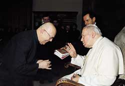DON AMORTH E GIOVANNI PAOLO II