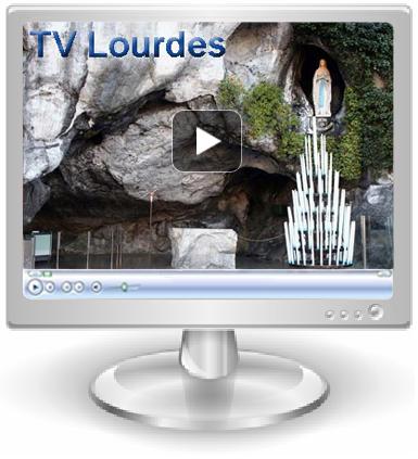 La grotte de lourdes en direct live a lourdes in ogni for Camera diretta tv