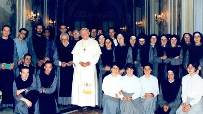 La Comunità dei Figli di Dio ed il Fondatore  Don Divo Barsotti (1914-2006) ricevuti dal Pontefice San Giovanni Paolo II