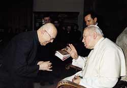 DON AMORTH E GIOVANNI PAOLO II