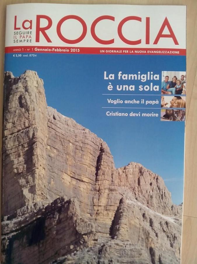 La copertina del primo numero (gennaio-febbraio 2015) de