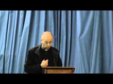 """Il francese Padre Etienne Roze autore del  libro """"Verità e splendore della differenza sessuale""""  edito da Cantagalli."""