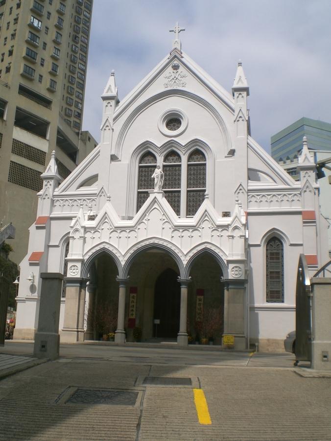 La Cattedrale dedicata alla Immacolata, chiesa madre di Hong Kong e dell'intera Diocesi.