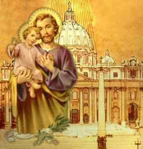 SAN GIUSEPPE Patrono della Chiesa universale