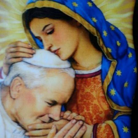 La Vergine e Giovanni Paolo II