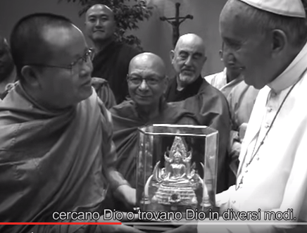 Papa e budda