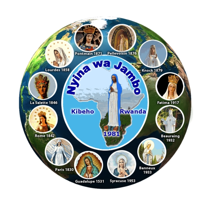 WORLD UNITED IN VIRGIN MARY