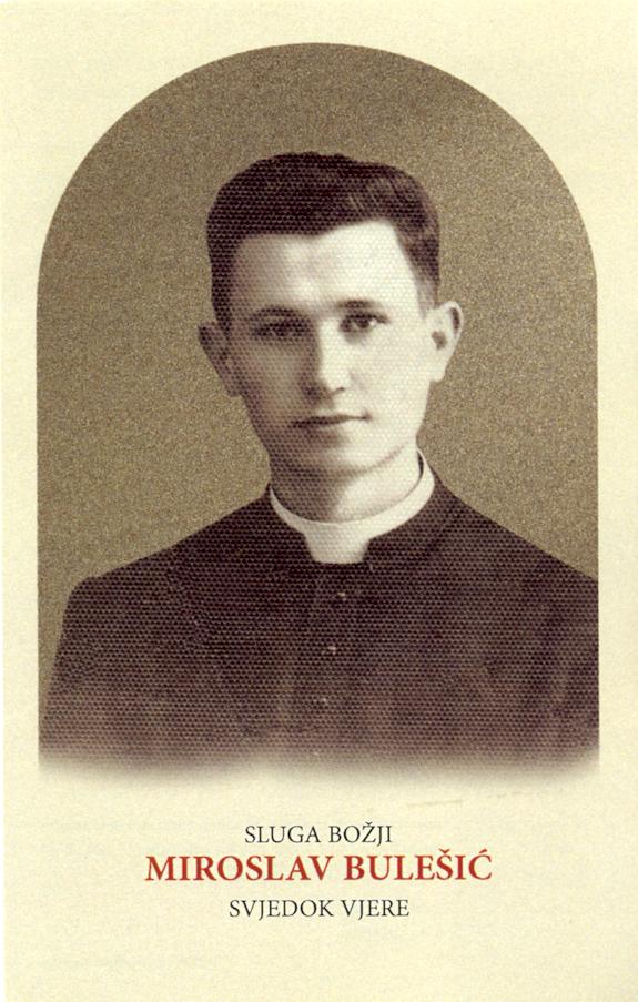Il BEATO  Miroslav Bulešić