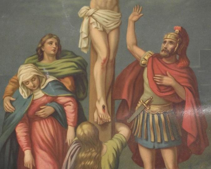 Veramente quest_uomo era Figlio di Dio!