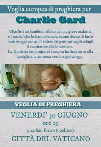 VEGLIA PER CHARLIE