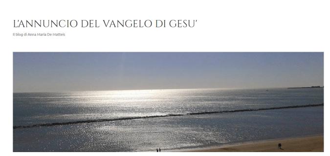 banner L'ANNUNCIO DEL VANGELO DI GESU