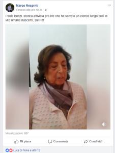 Video Paola Bonzi