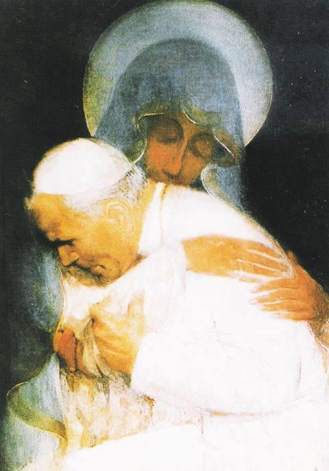 gp2 abbracciato alla Madonna