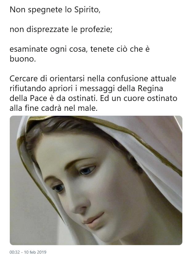 NON SPEGNETE LO SPIRITO TWEET