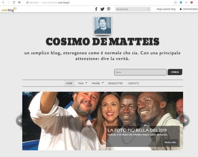 blog cosimo de matteis