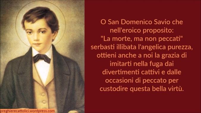 San Domenico Savio, La morte ma non peccati