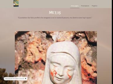homepage sito don francesco d'erasmo