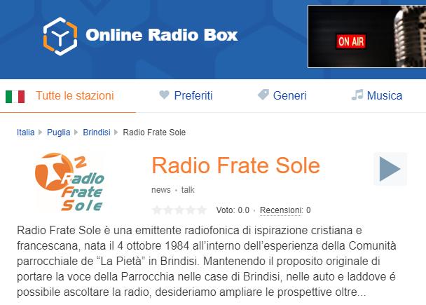 RFS - Onlineradiobox